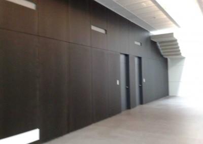 Laboratorios Korot, paredes en Viroc-Qualypanel