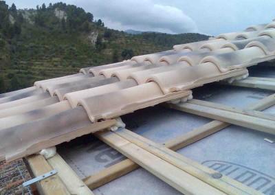 Montaje teja y teja-Qualypanel