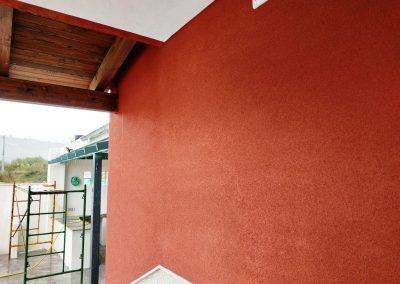 Qualypanel diseño puerta de entrada y recubrimiento fachada SATE (gran aislamiento térmico) 3